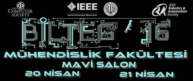 İstanbul Üniversitesi BİLTEG 2016 Konferansı