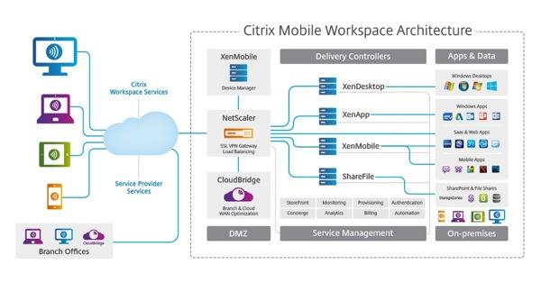 Citrix WS architecture1