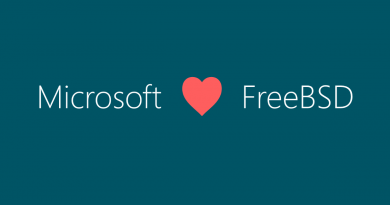 Microsoft-Love-FreeBSD