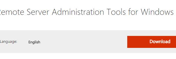 Windows 10 için Remote Server Administration Tools (RSAT) çıktı!
