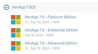 XenApp 7 6 Release