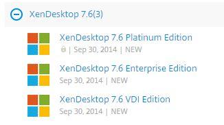 XenDesktop 7 6 Release
