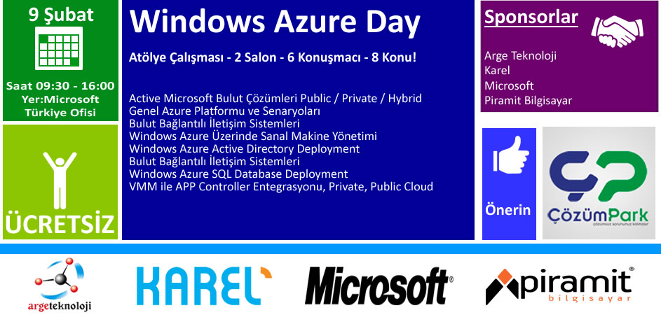 cozumpark-azure-day-9-subat-2013