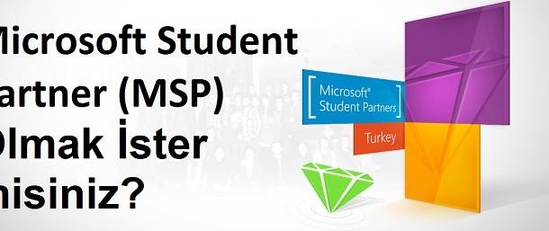 Microsoft Student Partner (MSP) Olmak istermisiniz?